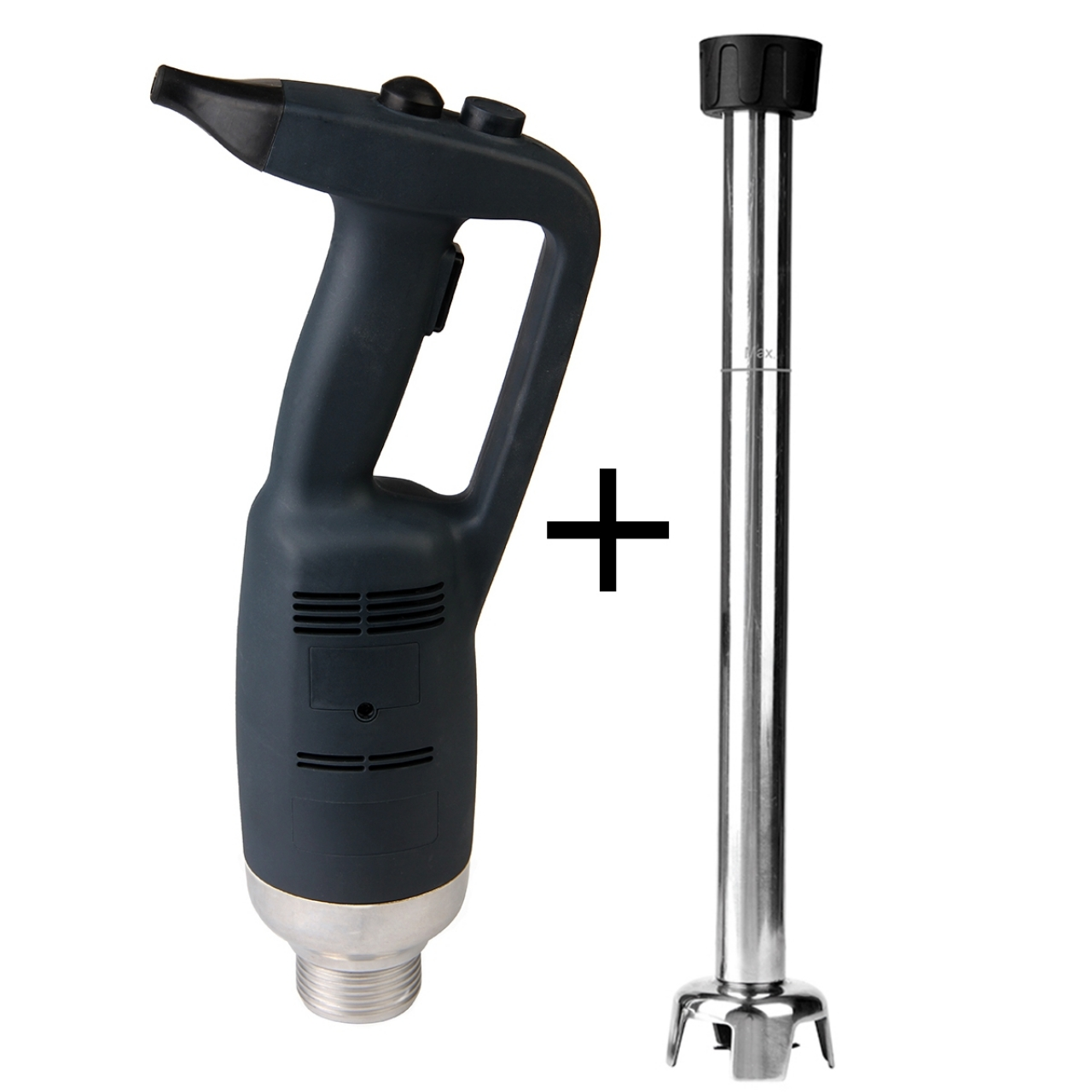 Hand-held blender with power regulator 500 mm