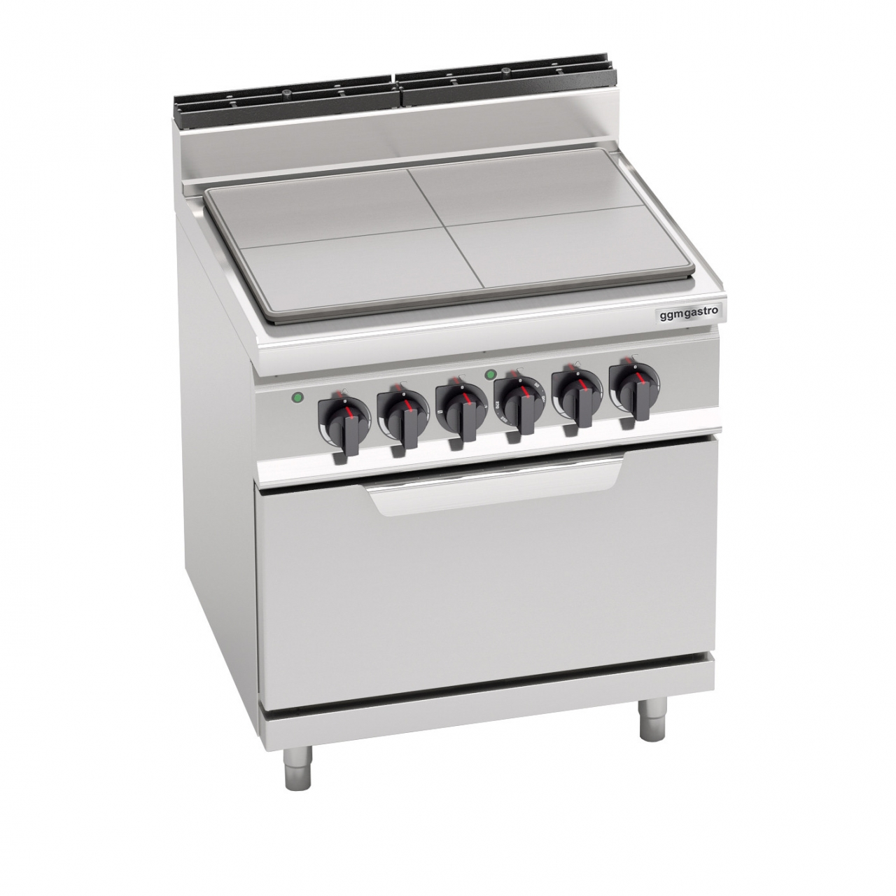 Hot plate stove 9kW + Static electric stove 7,5kW
