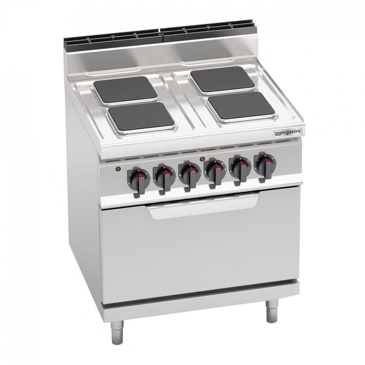Electric stove 10,4kW + Electric stove static 7,5kW
