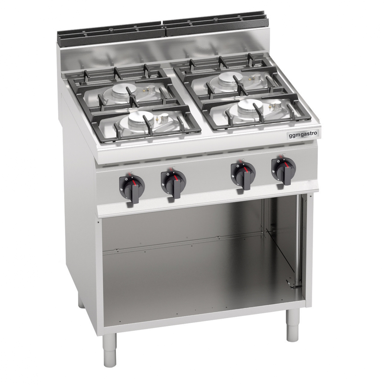Gas stove 4 burners 21.5 kW electronic ignition