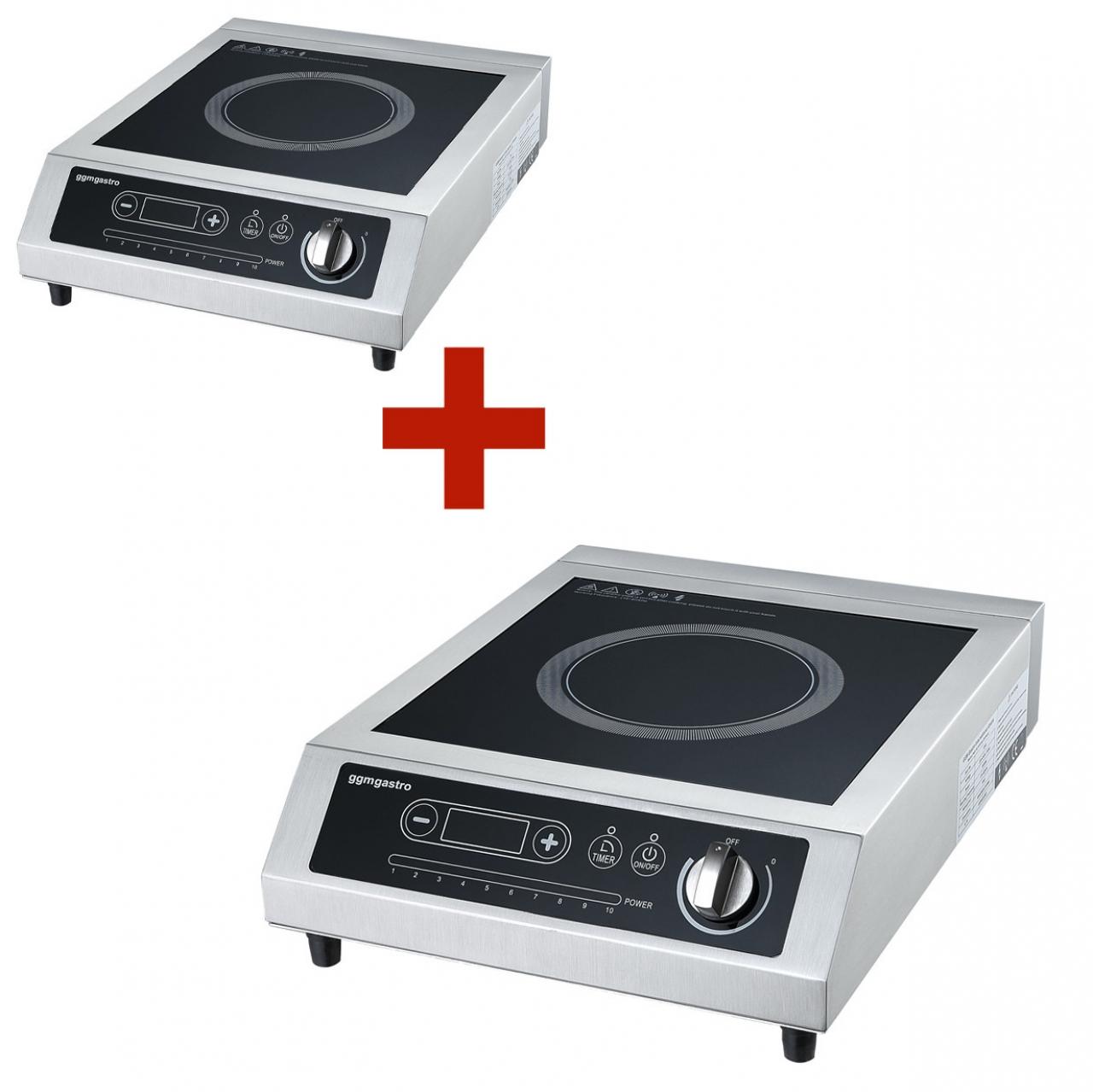 Induction cooker 2 pcs set 3.5 kW