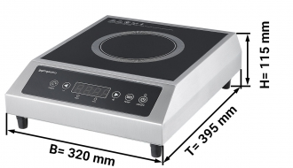Induction cooker 4 pcs set 2.7 kW