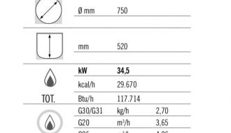 gas boiler 200L