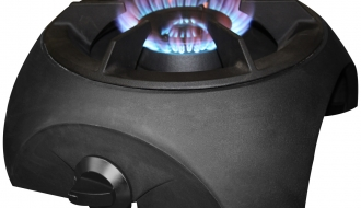 Wok stove 1 x gas Ø 460 mm