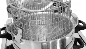 High pressure fryer