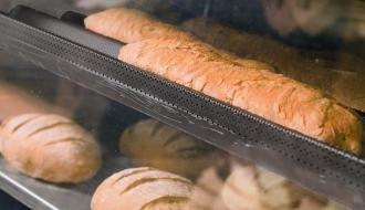 Baguette tray, Teflon EN 400x600