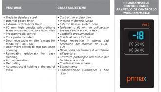 Kiirjahutuskapp Primax Fast 3x GN1/1