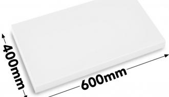 Cutting board 40x60cm white