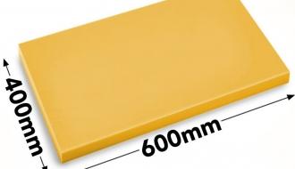 Cutting board 40x60cm yellow