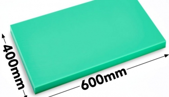 Cutting board 40x60cm green