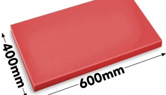 Cutting board 40x60cm red