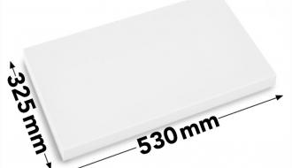 Cutting board 50x32,5cm white