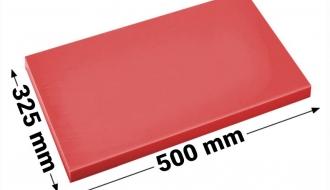 Cutting board 50x32,5cm red