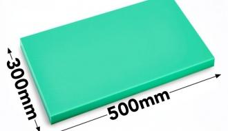 Lõikelaud 30x50cm roheline