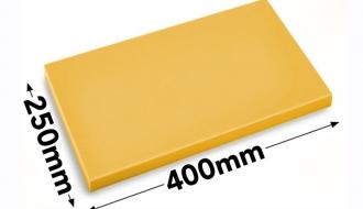 Lõikelaud 25x40cm kollane