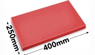 Cutting board 25x40cm red