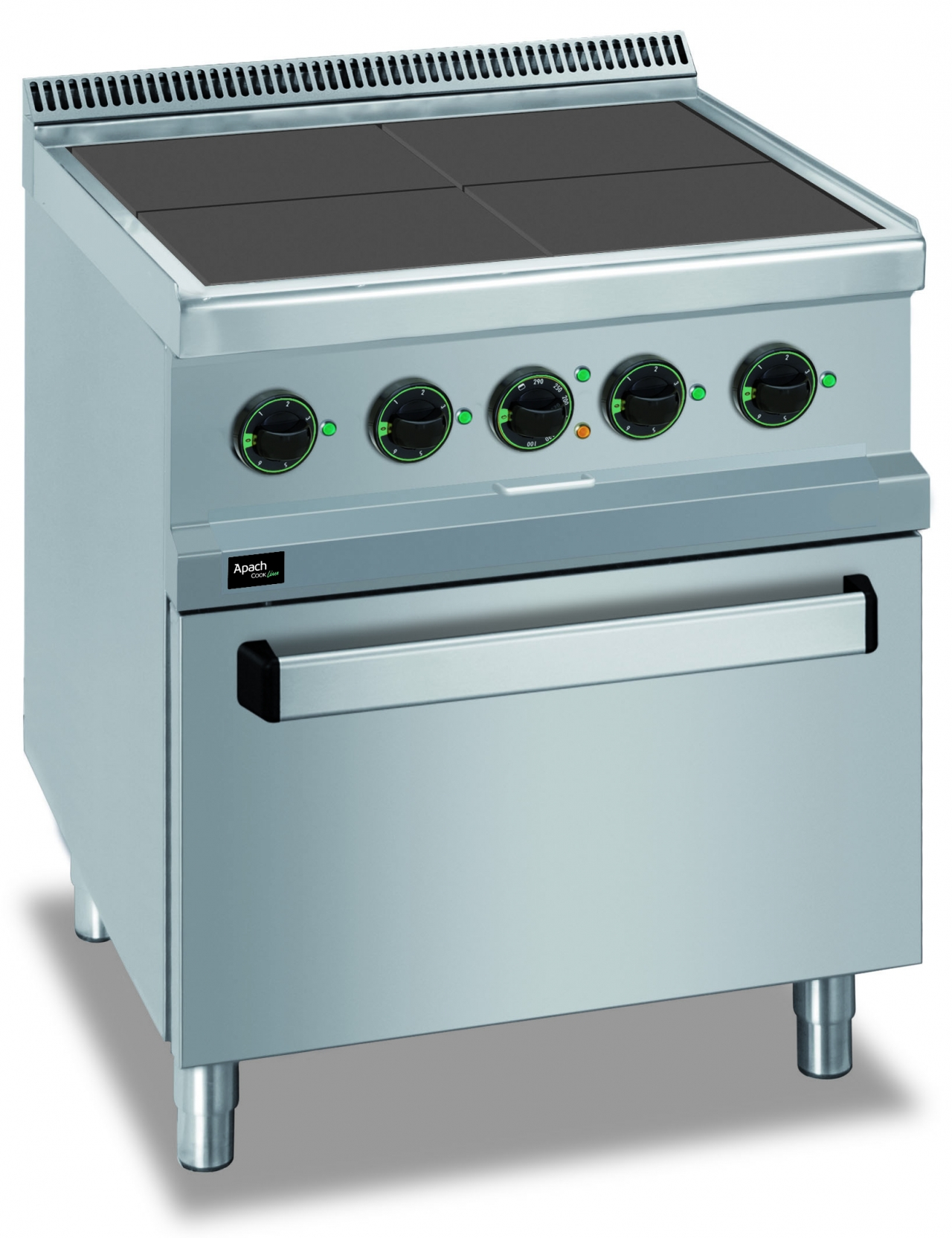 Electric stove 4 plates 15.3kW 77QFE