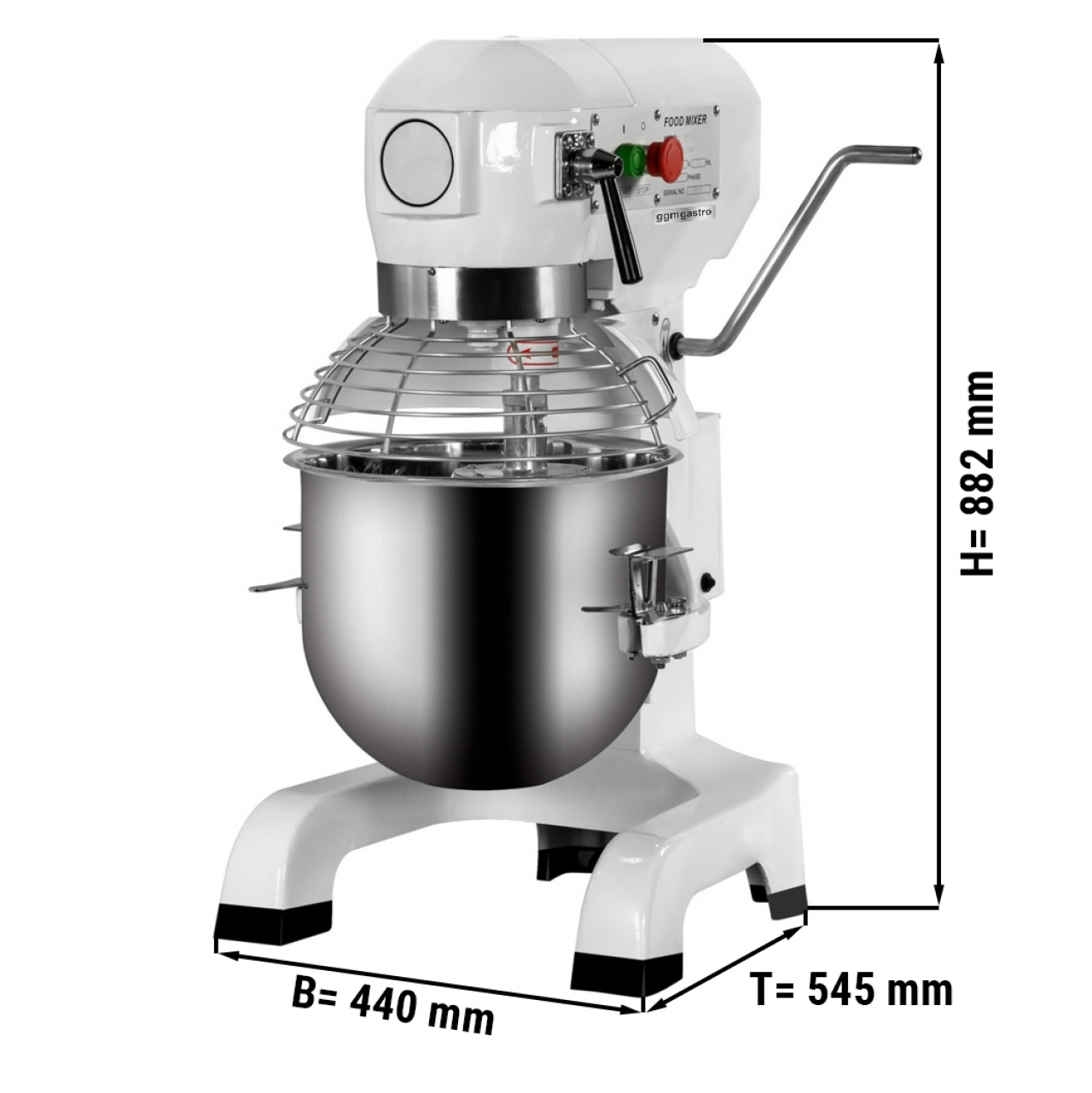 Planetary mixer - 30 Liter