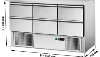 Külmsahtlikapp ECO 1,37 x6