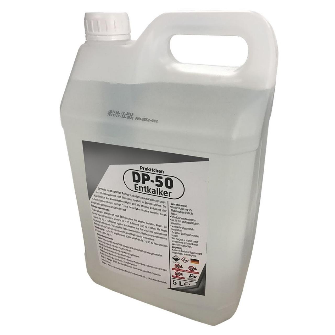 Nõudepesumasina katlakivieemaldaja (4 tk) - 5 liitrit